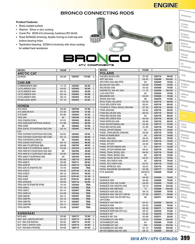 Intake Valve For 2007 Polaris Sportsman 500 EFI Deluxe~Bronco ATV Components