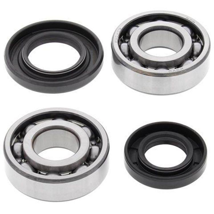 Crank Bearing and Seal Kit For Suzuki DS80 JR 80 NEW ALL BALLS 24-1068