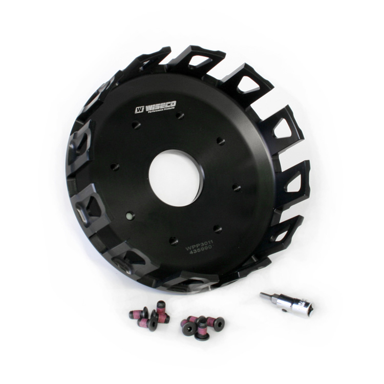 Wiseco WPP3011 Forged Clutch Basket for Suzuki RM250