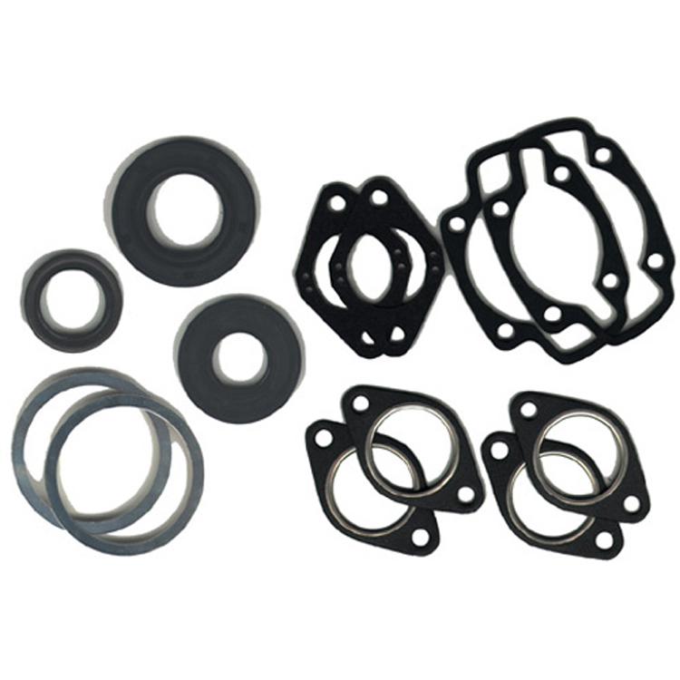 Winderosa 711033 Gasket Set with Oil Seals For 1974 Arctic Cat Cheetah 440