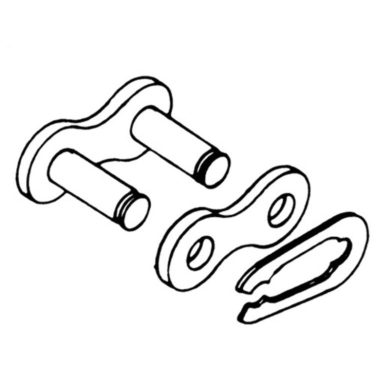 Rivet Connecting Link for 520 SRX Quadra X-Ring Chain RIVET EK Chain 520SRX-MLJ Natural